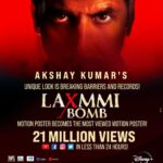 Akshay Kumar's Laxmmi Bomb breaks records before release, becomes most Viewed Motion Poster